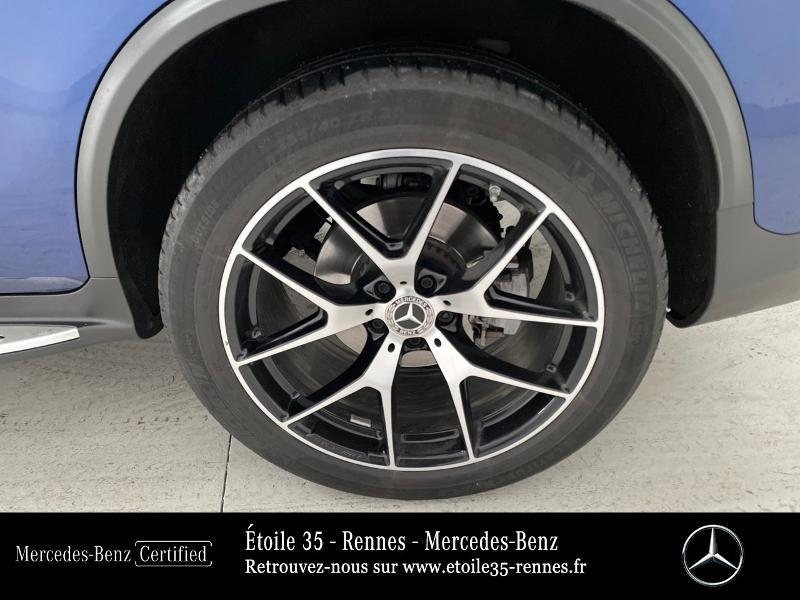 Mercedes GLC 220 d 194ch AMG Line 4Matic 9G-Tronic Bleu occasion à SAINT-GREGOIRE - photo n°15