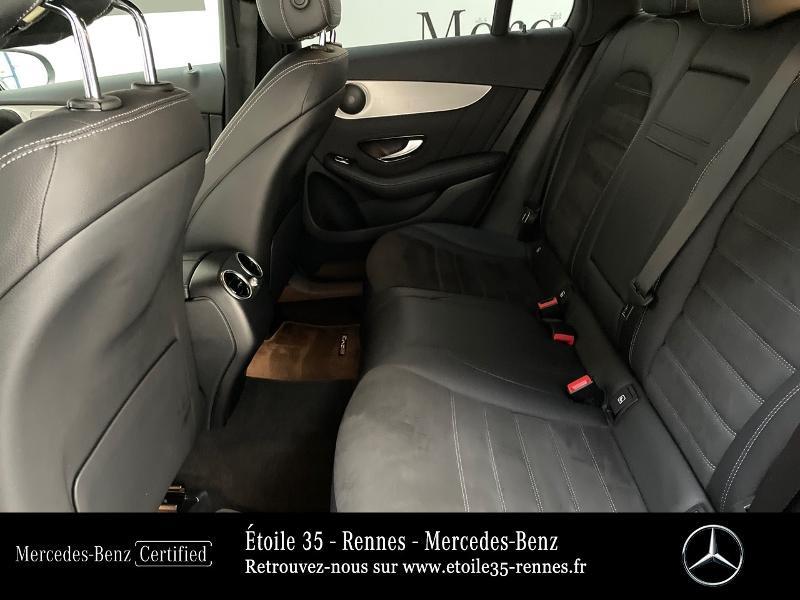 Mercedes GLC 220 d 194ch AMG Line 4Matic 9G-Tronic Bleu occasion à SAINT-GREGOIRE - photo n°11