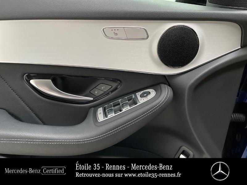 Mercedes GLC 220 d 194ch AMG Line 4Matic 9G-Tronic Bleu occasion à SAINT-GREGOIRE - photo n°18