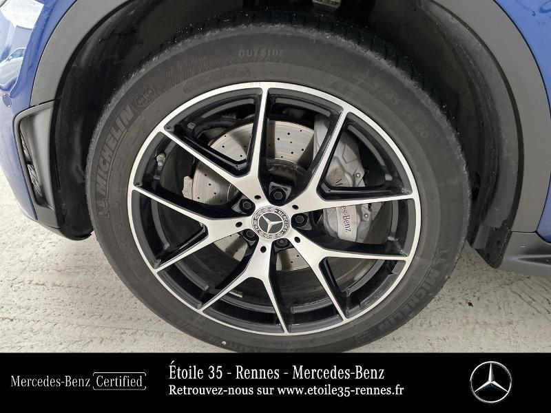 Mercedes GLC 220 d 194ch AMG Line 4Matic 9G-Tronic Bleu occasion à SAINT-GREGOIRE - photo n°16