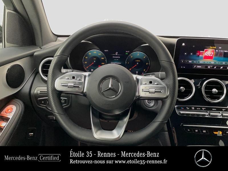 Mercedes GLC 220 d 194ch AMG Line 4Matic 9G-Tronic Bleu occasion à SAINT-GREGOIRE - photo n°7