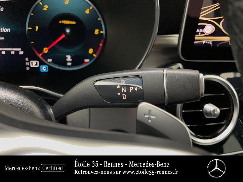 Mercedes GLC 220 d 194ch AMG Line 4Matic 9G-Tronic Bleu occasion à SAINT-GREGOIRE - photo n°10