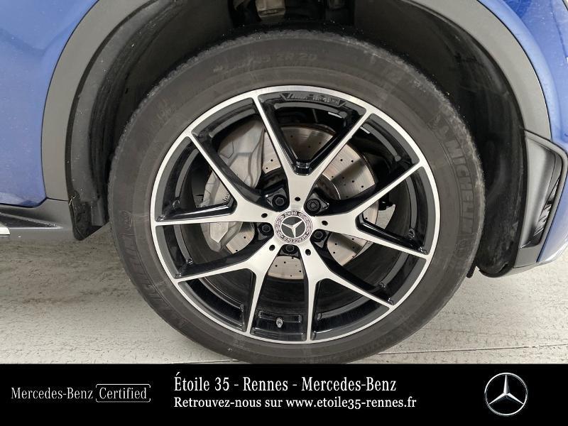 Mercedes GLC 220 d 194ch AMG Line 4Matic 9G-Tronic Bleu occasion à SAINT-GREGOIRE - photo n°13