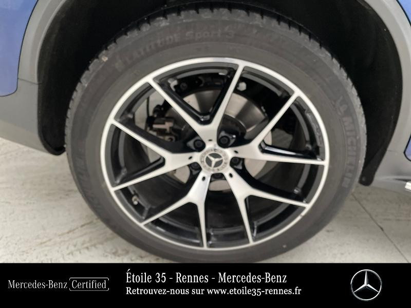Mercedes GLC 220 d 194ch AMG Line 4Matic 9G-Tronic Bleu occasion à SAINT-GREGOIRE - photo n°14