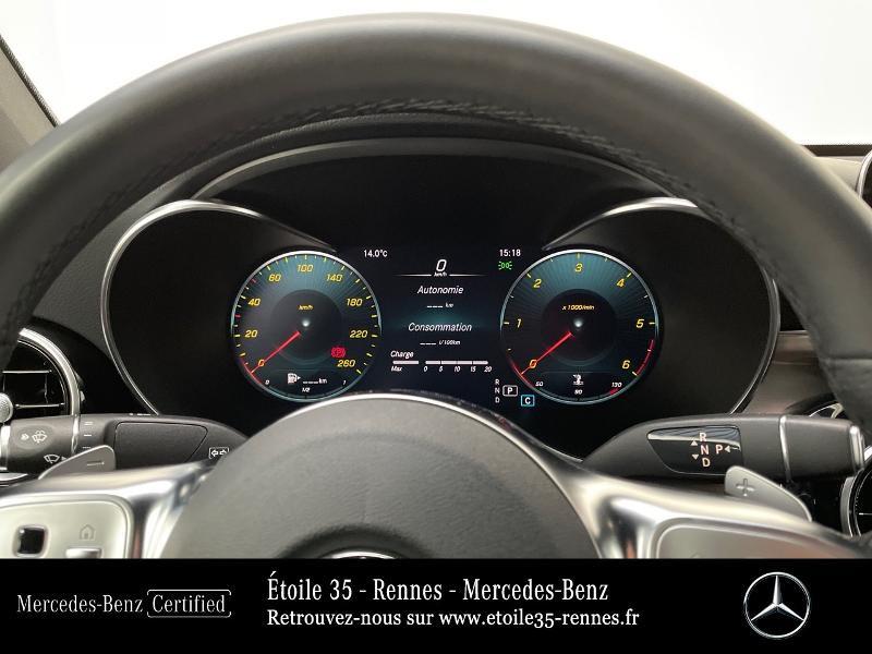 Mercedes GLC 220 d 194ch AMG Line 4Matic 9G-Tronic Bleu occasion à SAINT-GREGOIRE - photo n°9