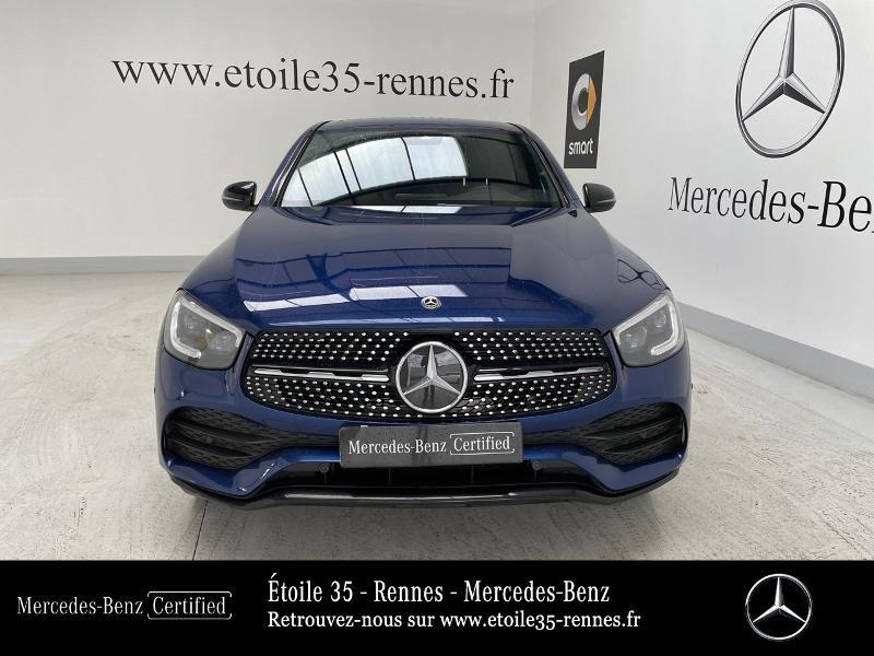 Mercedes GLC 220 d 194ch AMG Line 4Matic 9G-Tronic Bleu occasion à SAINT-GREGOIRE - photo n°5