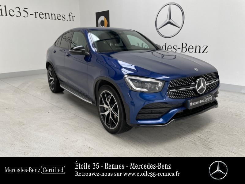 Mercedes GLC 220 d 194ch AMG Line 4Matic 9G-Tronic Bleu occasion à SAINT-GREGOIRE