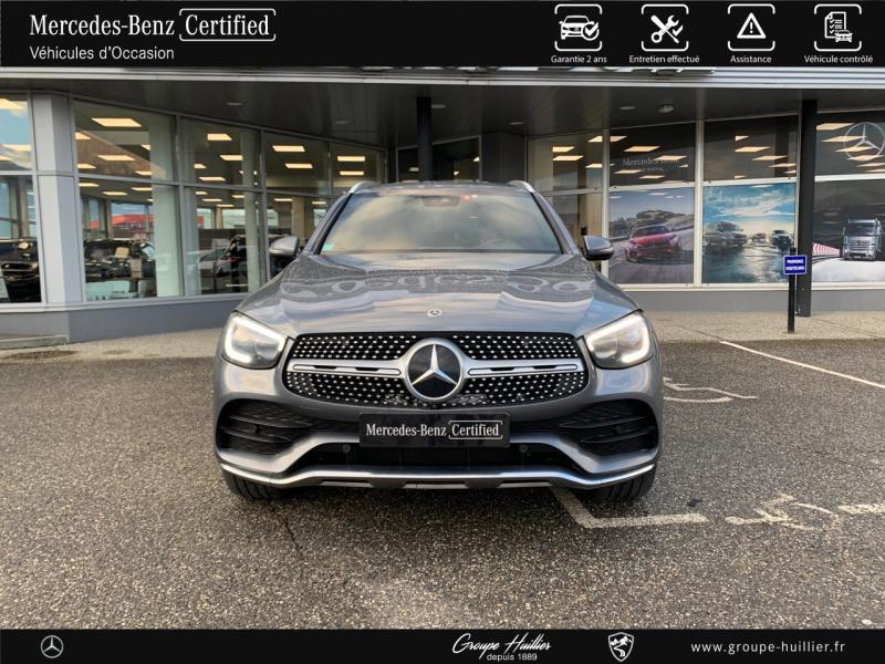 Mercedes GLC 220 d 194ch AMG Line 4Matic Launch Edition 9G-Tronic Gris occasion à Gières - photo n°5