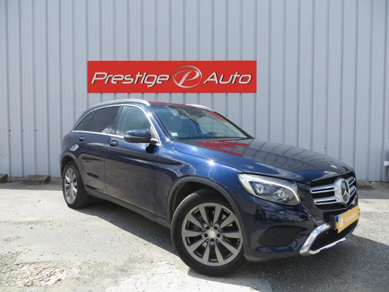 Mercedes GLC 250 d 204ch Business Executive 4Matic 9G-Tronic Bleu occasion à La Roche-sur-Yon