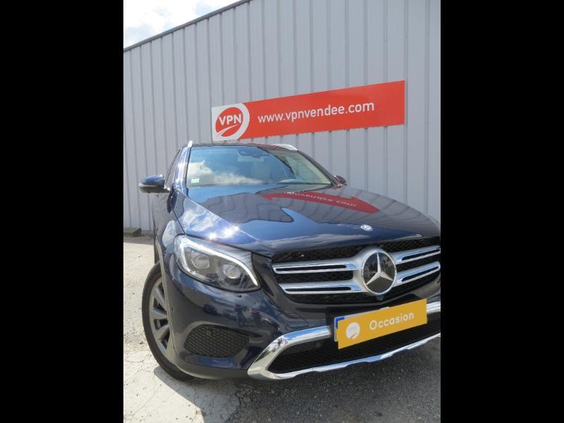 Mercedes GLC 250 d 204ch Business Executive 4Matic 9G-Tronic Bleu occasion à La Roche-sur-Yon - photo n°2