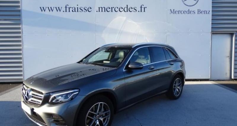 Mercedes GLC 250 d 204ch Fascination 4Matic 9G-Tronic Euro6c Gris occasion à Saint-germain-laprade