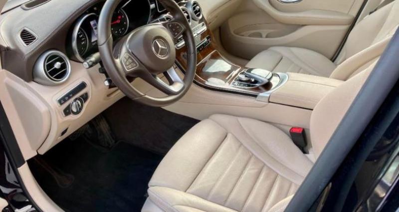 Mercedes GLC 250 d 204ch Fascination 4Matic 9G-Tronic Euro6c Noir occasion à Cambrai - photo n°4
