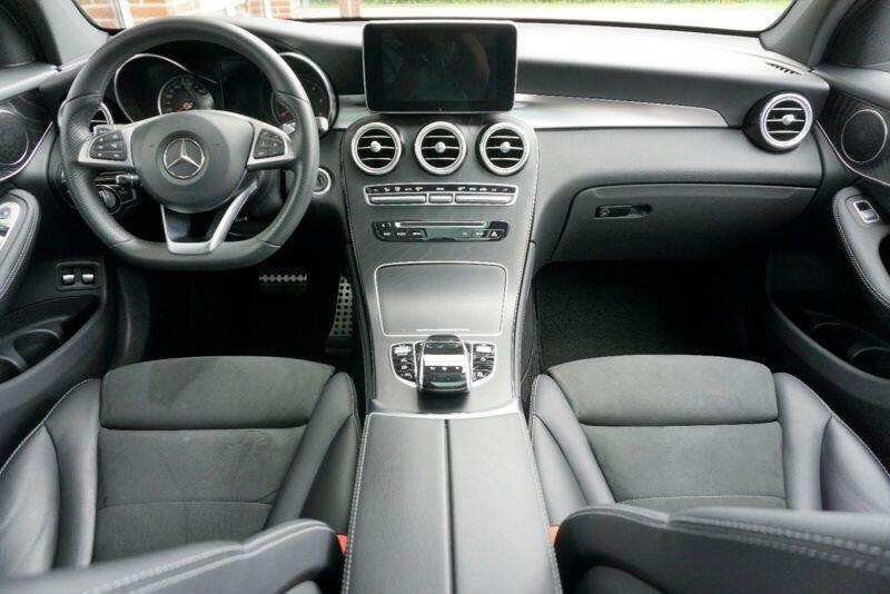 Mercedes GLC 250 D 204CH FASCINATION 4MATIC 9G-TRONIC Blanc occasion à Villenave-d'Ornon - photo n°6