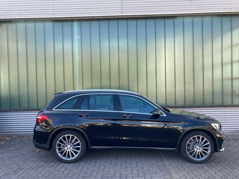 Mercedes GLC 250 D 204CH FASCINATION 4MATIC 9G-TRONIC Noir occasion à Villenave-d'Ornon - photo n°5
