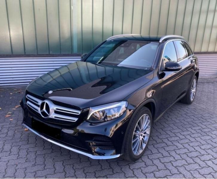 Mercedes GLC 250 D 204CH FASCINATION 4MATIC 9G-TRONIC Noir occasion à Villenave-d'Ornon