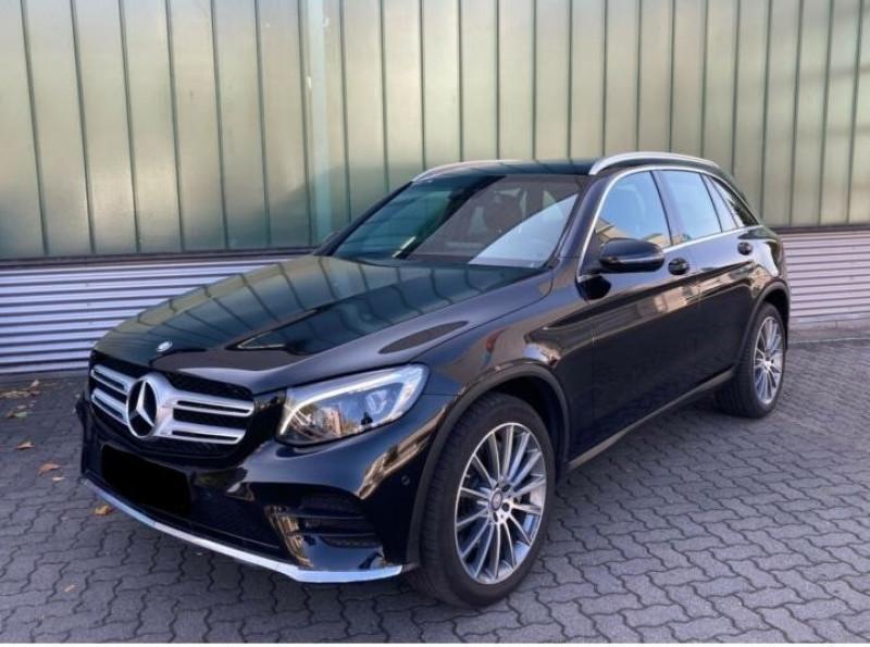 Mercedes GLC 250 D 204CH FASCINATION 4MATIC 9G-TRONIC Noir occasion à Villenave-d'Ornon - photo n°3