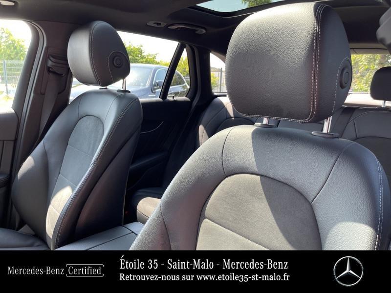 Mercedes GLC 250 d 204ch Sportline 4Matic 9G-Tronic Euro6c Noir occasion à SAINT-MALO - photo n°8