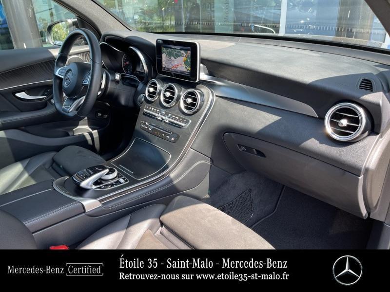Mercedes GLC 250 d 204ch Sportline 4Matic 9G-Tronic Euro6c Noir occasion à SAINT-MALO - photo n°15