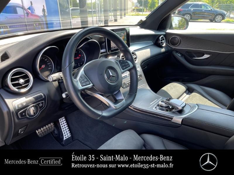 Mercedes GLC 250 d 204ch Sportline 4Matic 9G-Tronic Euro6c Noir occasion à SAINT-MALO - photo n°7