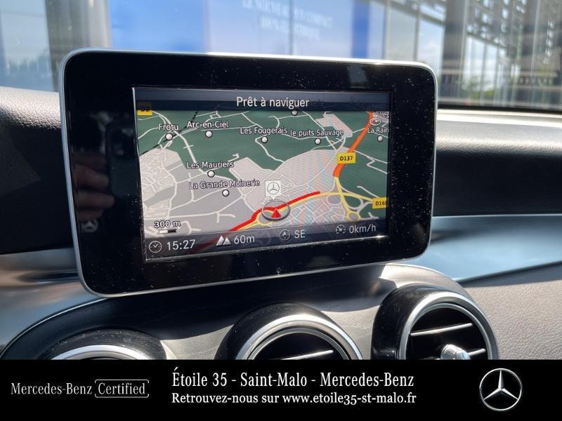 Mercedes GLC 250 d 204ch Sportline 4Matic 9G-Tronic Euro6c Noir occasion à SAINT-MALO - photo n°18