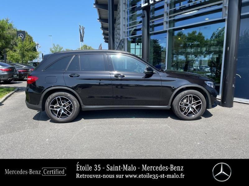 Mercedes GLC 250 d 204ch Sportline 4Matic 9G-Tronic Euro6c Noir occasion à SAINT-MALO - photo n°4