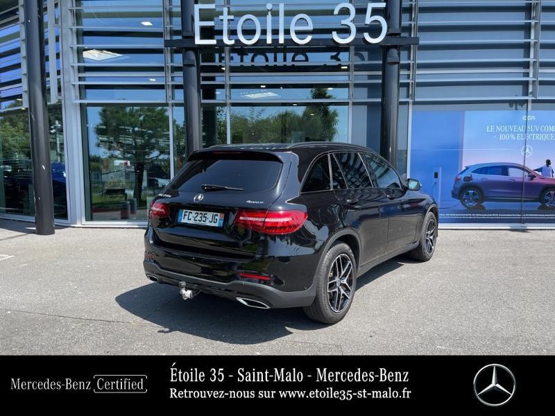 Mercedes GLC 250 d 204ch Sportline 4Matic 9G-Tronic Euro6c Noir occasion à SAINT-MALO - photo n°3