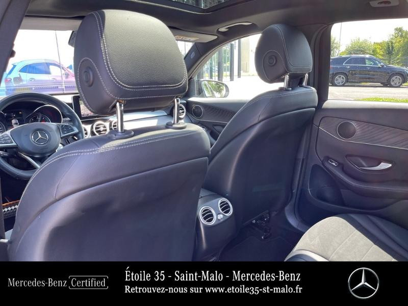 Mercedes GLC 250 d 204ch Sportline 4Matic 9G-Tronic Euro6c Noir occasion à SAINT-MALO - photo n°12
