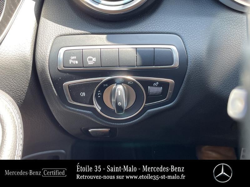 Mercedes GLC 250 d 204ch Sportline 4Matic 9G-Tronic Euro6c Noir occasion à SAINT-MALO - photo n°17