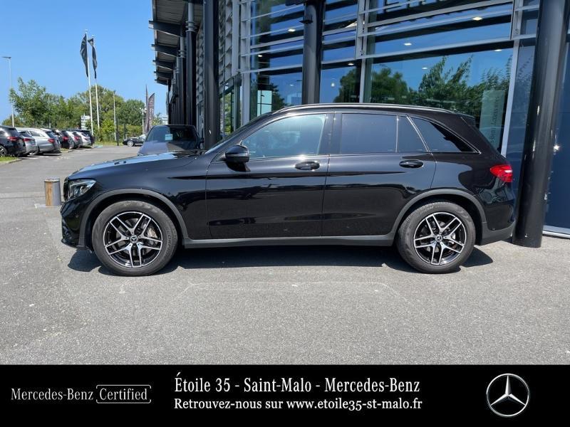 Mercedes GLC 250 d 204ch Sportline 4Matic 9G-Tronic Euro6c Noir occasion à SAINT-MALO - photo n°2