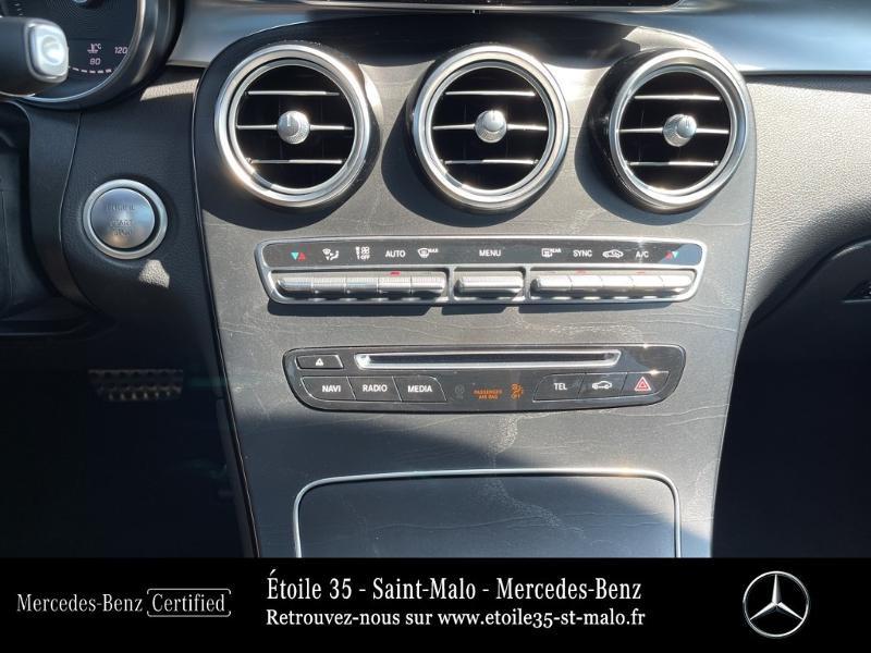 Mercedes GLC 250 d 204ch Sportline 4Matic 9G-Tronic Euro6c Noir occasion à SAINT-MALO - photo n°20