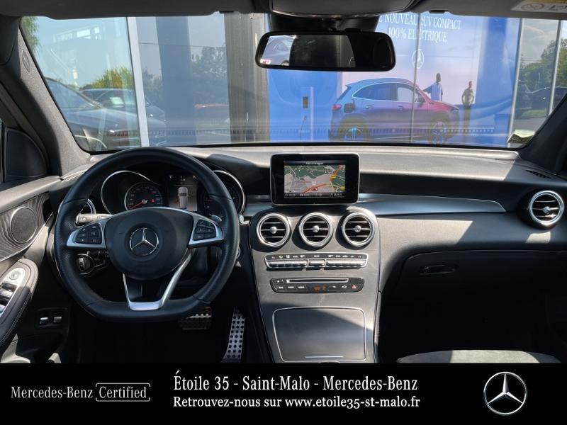 Mercedes GLC 250 d 204ch Sportline 4Matic 9G-Tronic Euro6c Noir occasion à SAINT-MALO - photo n°6