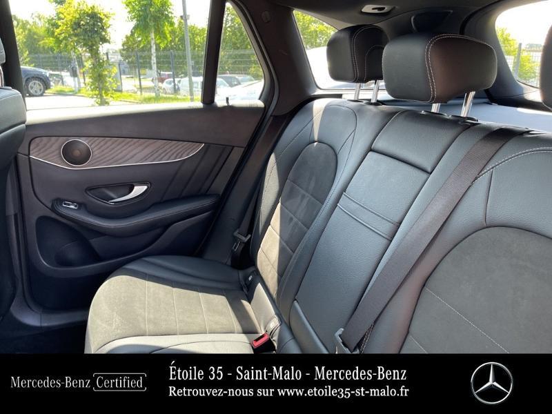 Mercedes GLC 250 d 204ch Sportline 4Matic 9G-Tronic Euro6c Noir occasion à SAINT-MALO - photo n°11