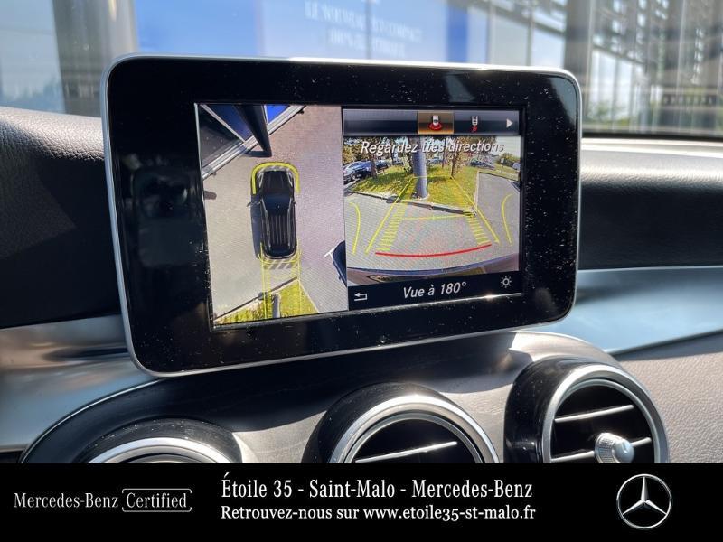Mercedes GLC 250 d 204ch Sportline 4Matic 9G-Tronic Euro6c Noir occasion à SAINT-MALO - photo n°19
