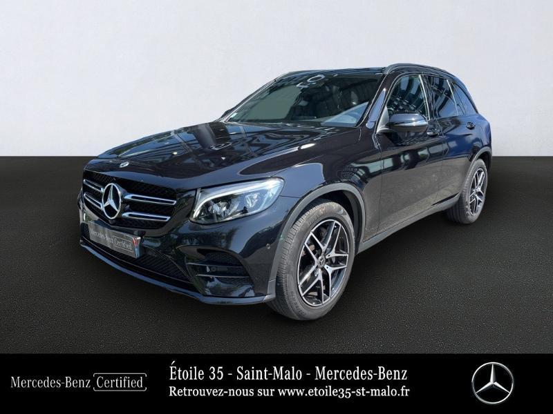 Mercedes GLC 250 d 204ch Sportline 4Matic 9G-Tronic Euro6c Noir occasion à SAINT-MALO