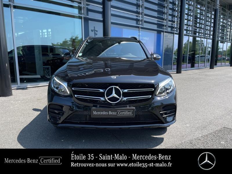 Mercedes GLC 250 d 204ch Sportline 4Matic 9G-Tronic Euro6c Noir occasion à SAINT-MALO - photo n°5