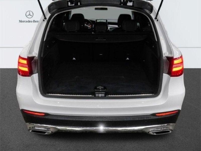 Mercedes GLC 250 d 4 Matic Blanc occasion à Beaupuy - photo n°9