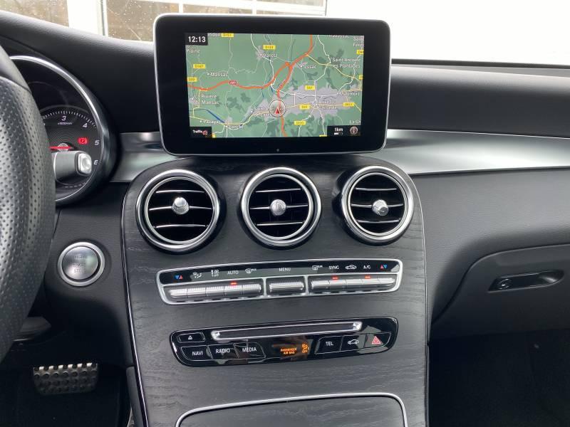 Mercedes GLC 250 d 9G-Tronic 4Matic Fascination Gris occasion à Brive-la-Gaillarde - photo n°6