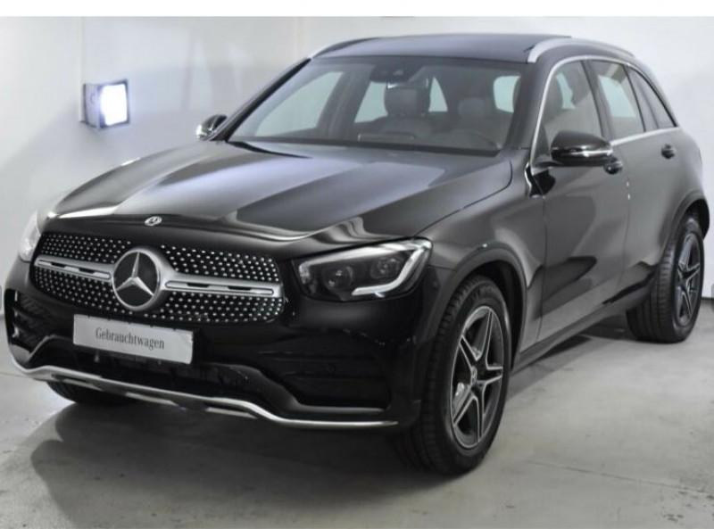 Mercedes GLC 300 258CH EQ BOOST AMG LINE 4MATIC 9G-TRONIC EURO6D-T-EVAP-I Noir occasion à Villenave-d'Ornon - photo n°2