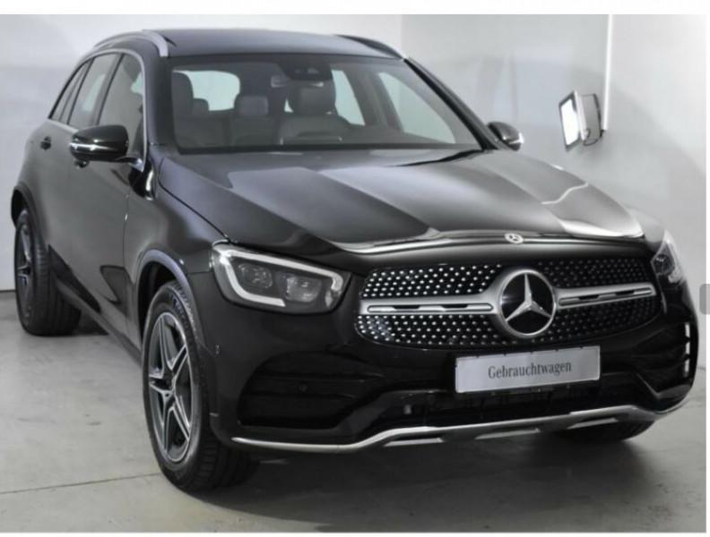 Mercedes GLC 300 258CH EQ BOOST AMG LINE 4MATIC 9G-TRONIC EURO6D-T-EVAP-I Noir occasion à Villenave-d'Ornon