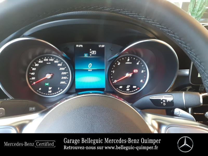 Mercedes GLC 300 d 245ch AMG Line 4Matic 9G-Tronic Argent occasion à QUIMPER - photo n°9