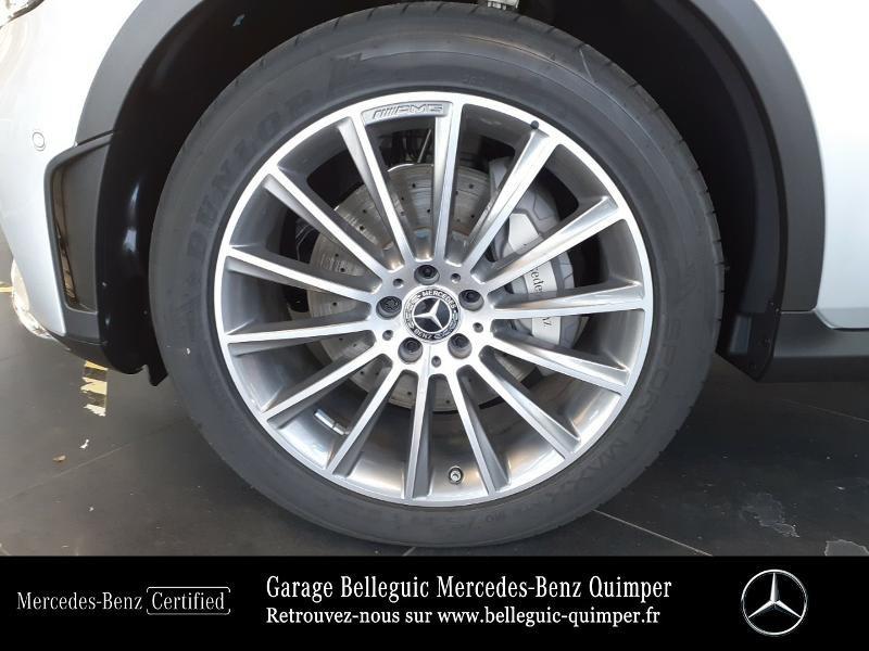 Mercedes GLC 300 d 245ch AMG Line 4Matic 9G-Tronic Argent occasion à QUIMPER - photo n°13