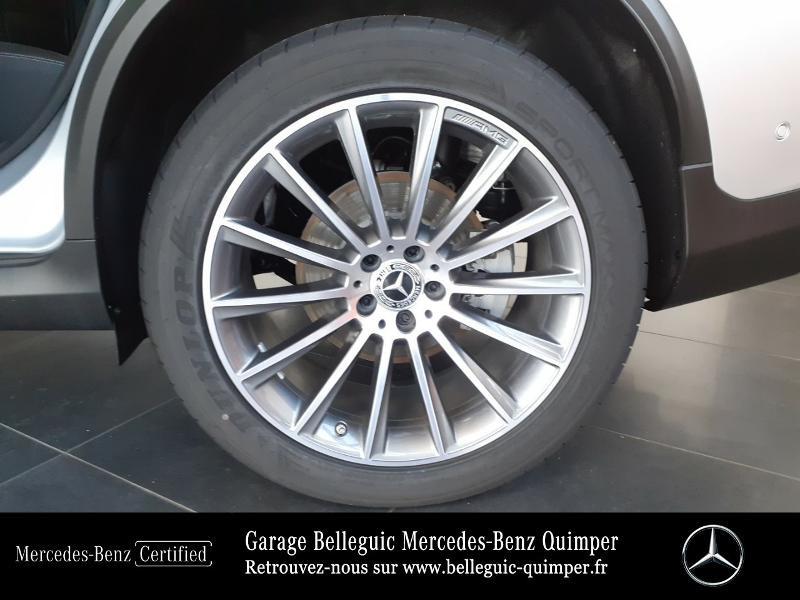 Mercedes GLC 300 d 245ch AMG Line 4Matic 9G-Tronic Argent occasion à QUIMPER - photo n°14