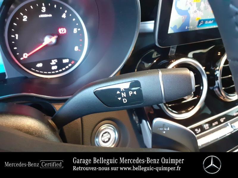 Mercedes GLC 300 d 245ch AMG Line 4Matic 9G-Tronic Argent occasion à QUIMPER - photo n°10
