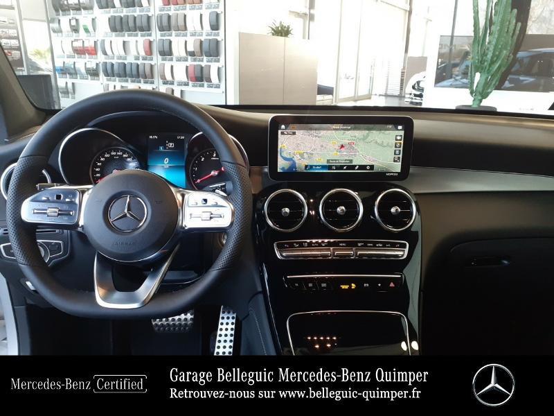 Mercedes GLC 300 d 245ch AMG Line 4Matic 9G-Tronic Argent occasion à QUIMPER - photo n°6