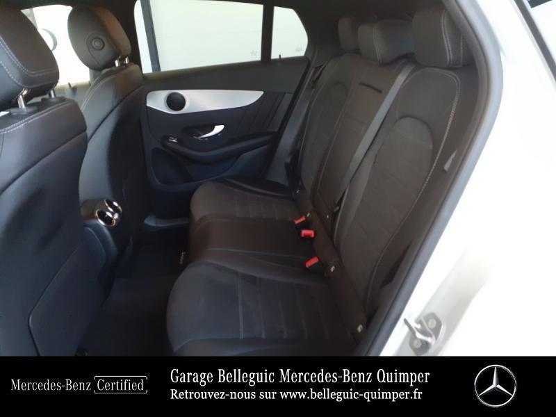 Mercedes GLC 300 d 245ch AMG Line 4Matic 9G-Tronic Argent occasion à QUIMPER - photo n°11
