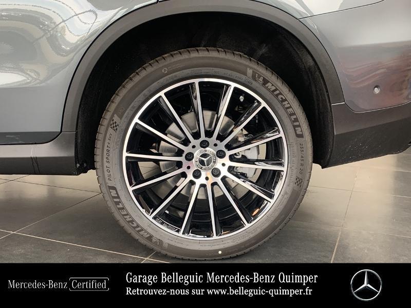 Mercedes GLC 300 de 194+122ch AMG Line 4Matic 9G-Tronic Gris occasion à QUIMPER - photo n°14