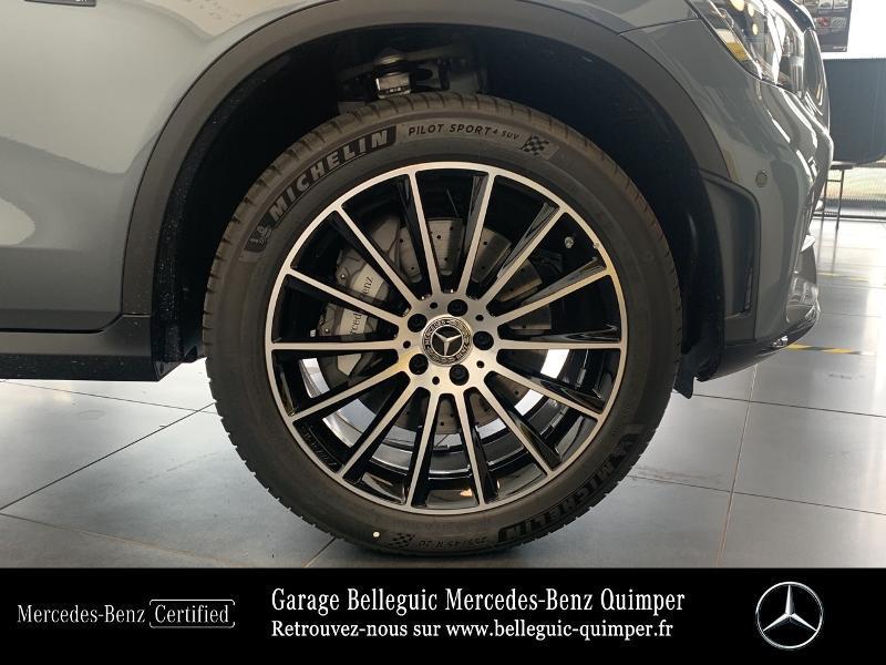 Mercedes GLC 300 de 194+122ch AMG Line 4Matic 9G-Tronic Gris occasion à QUIMPER - photo n°16