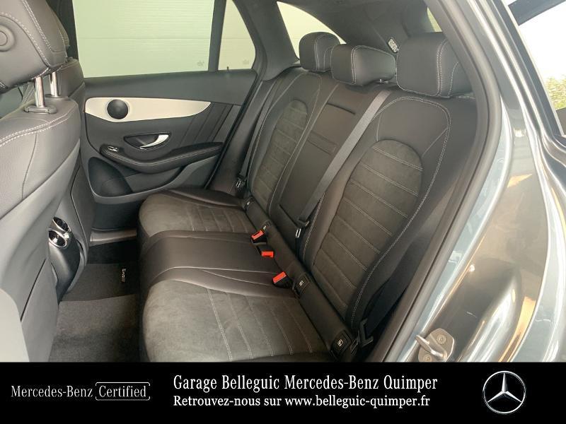 Mercedes GLC 300 de 194+122ch AMG Line 4Matic 9G-Tronic Gris occasion à QUIMPER - photo n°11