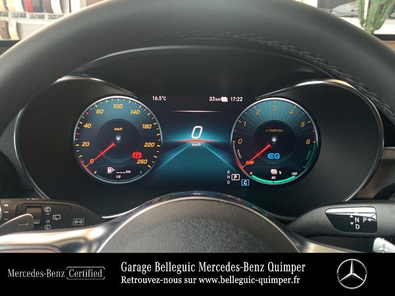 Mercedes GLC 300 de 194+122ch AMG Line 4Matic 9G-Tronic Gris occasion à QUIMPER - photo n°9