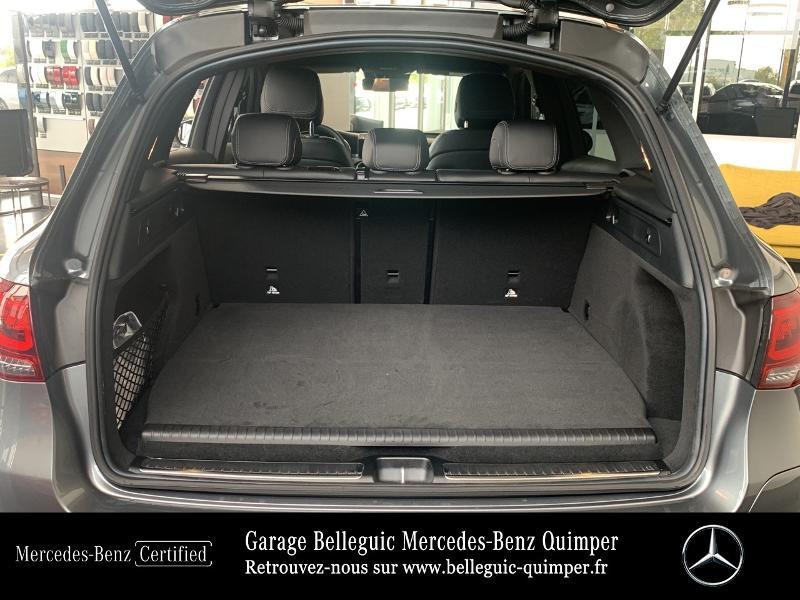 Mercedes GLC 300 de 194+122ch AMG Line 4Matic 9G-Tronic Gris occasion à QUIMPER - photo n°12